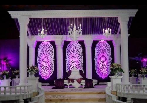 Wedding decoration fiberglass wedding stage exporter from ahmedabad fiberglass wedding stage junglespirit