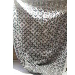 White Printed Bed Sheet