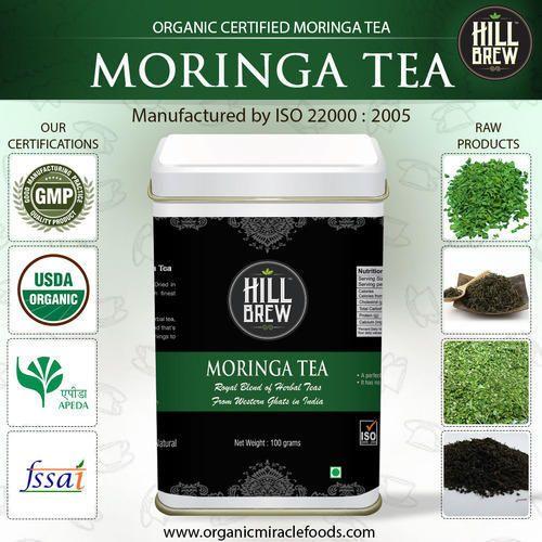Organic Moringa Herbal Tea