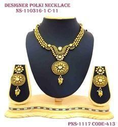 Antique Beautiful Looking Fancy Necklace Set