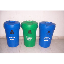 Waste Bins With Closed Lids