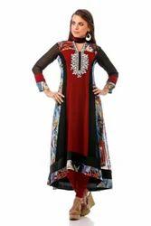 Long Kurti Salwar Kameez Party Wear Salwar Suit