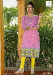 Designer cotton regular wear Kurti