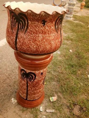 Ceramic Handicraft Ceramic Surahi Exporter From Noida