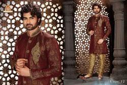 Stylish Designer Groom Sherwani