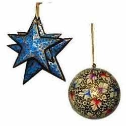 custom brand tree shaped christmas ornaments