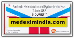 Brand Name Generic Moduretic (Amiloride-Hydrochlorothiazide)