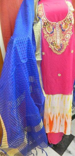 Gota Patti Suit Material