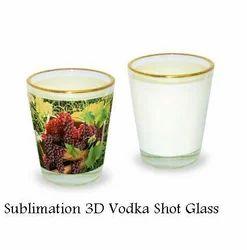 Sublimation Shot Glass - 3D Vodka Shot Glass