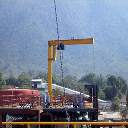 Jib Crane Manufacturers In Ahmedabad : Sumo material handling systems services ahmedabad