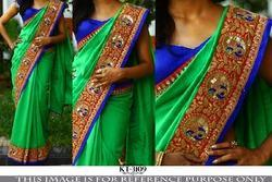 Stylish Fancy Party Wear Saree
