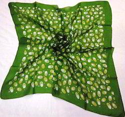 Silk Printed Tabby Square Scarves