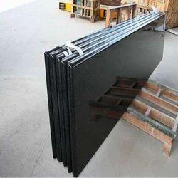 Full Black Granite Slabs