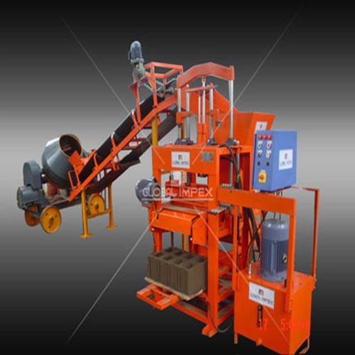 Concrete Block Machine Stationary Type