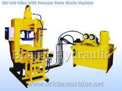 Vibro with Pressure Paver Block Machine