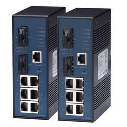 Managed Eight Port Hardened Industrial Ethernet Switches