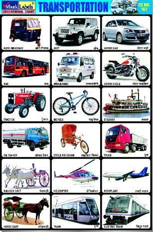 Land Transport Pictures For Kids