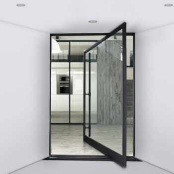 Iron Pivot Doors