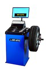 Videographic Based Wheel Balancer