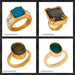 Gold Plated Fashion Rings