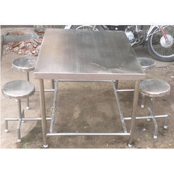 Dining Tables and Chairs Canteen Dining Tables Manufacturer from