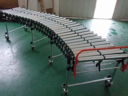 Flexible Roller Expandable Conveyor Flexible Expandable