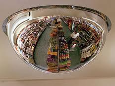 Over Head Convex  Dome Mirror