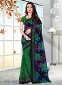 Georgette Printed Saree