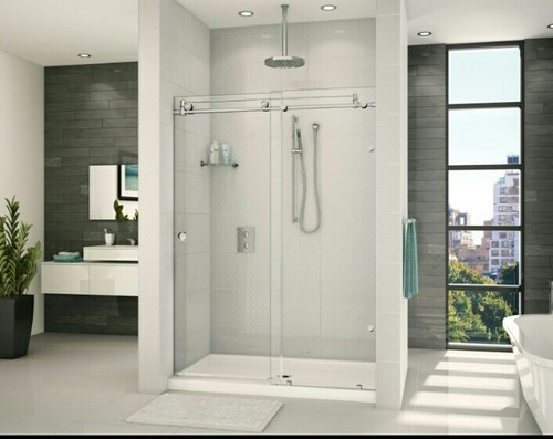 Glass Partition Modern Bathroom Partitions Manufacturer From Thrissur Beauteous Bathroom Partition Glass Model
