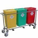 Pedal Biohazard Waste Bin