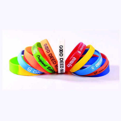 PVC Silicon Wristband
