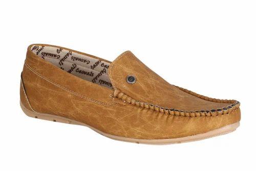 Beige Loafer Shoes
