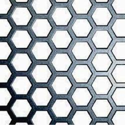 Hexagonal Hole Perforated Sheet