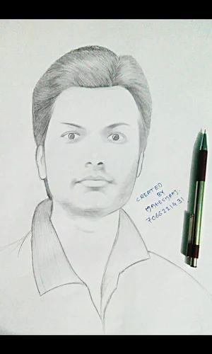 create your own sketch dark pencil sketch manufacturer from aurangabad