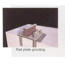 Rail Plate Grouting