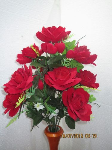 Artificial Flower Plants Artificial Flower Bunch Manufacturer From