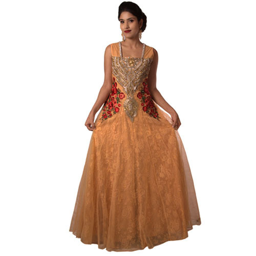 Ladies Gown Party Wear Gown Manufacturer From Kolkata