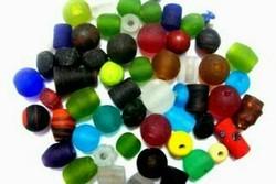 Big Hole Glass Beads