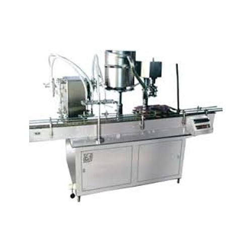 Liquid Bottle Filling And Capping Machine