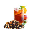 Ginger Peach Black Ice Tea