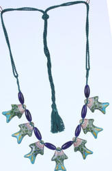 Pottery Fish Necklace