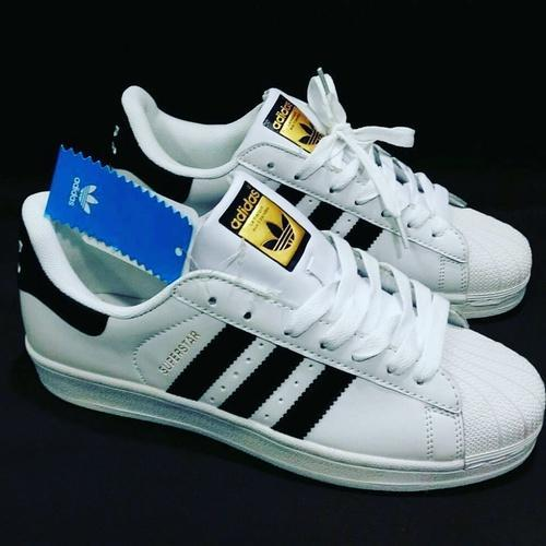premium selection d13d2 a7a4f Adidas Superstar White Sneakers