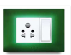 Bottle Green Electrical Switch