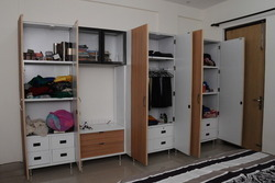Plywood Wardrobe - Online