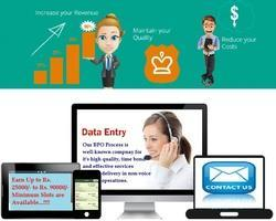 bpo non voice projects data entry payment