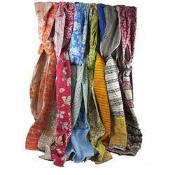 Colored Kantha Scarves
