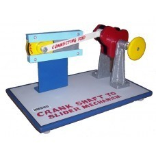 Crank Shaft to Slider Mechanism Model