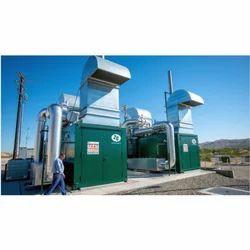 Zero Electricity Sewage Treatment Plant