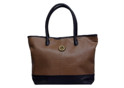 Black And Brown Leather Bag