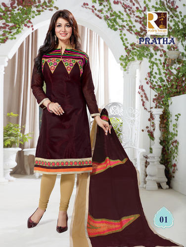 Festival Wear Embroidered Suits